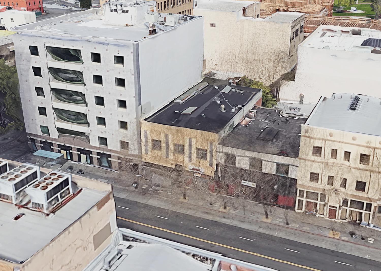 17 East Santa Clara Street, courtesy Google Satellite