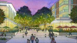 Citywalk Bishop Ranch Residential Neighborhood, illustration courtesy Sunset Development Company
