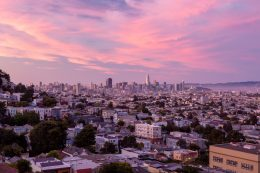 San Francisco Skyline, image by Andrew Campbell Nelson