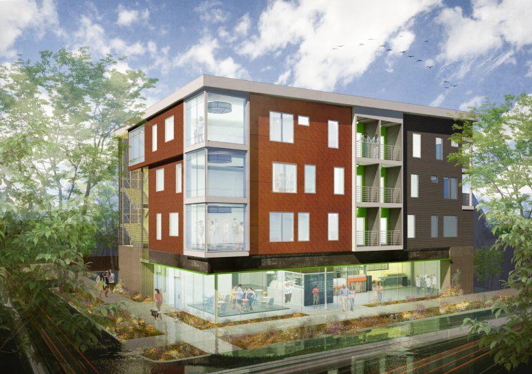 10U at 2030 10th Street, designed by Ellis Architects-