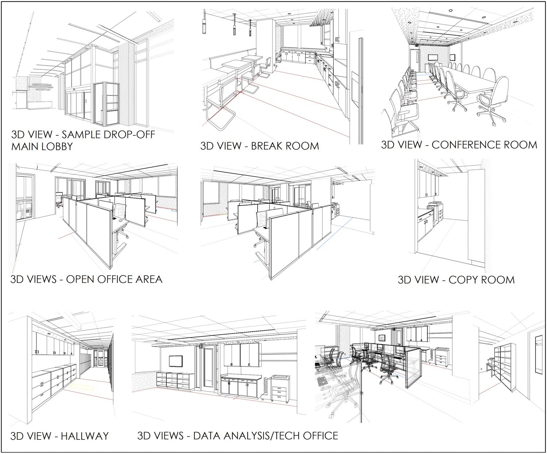 1100 Van Ness interior drawings, drawing by DGA