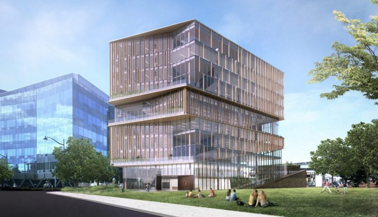 1450 Owens Street offices, development by Alexandria Real Estate Equities