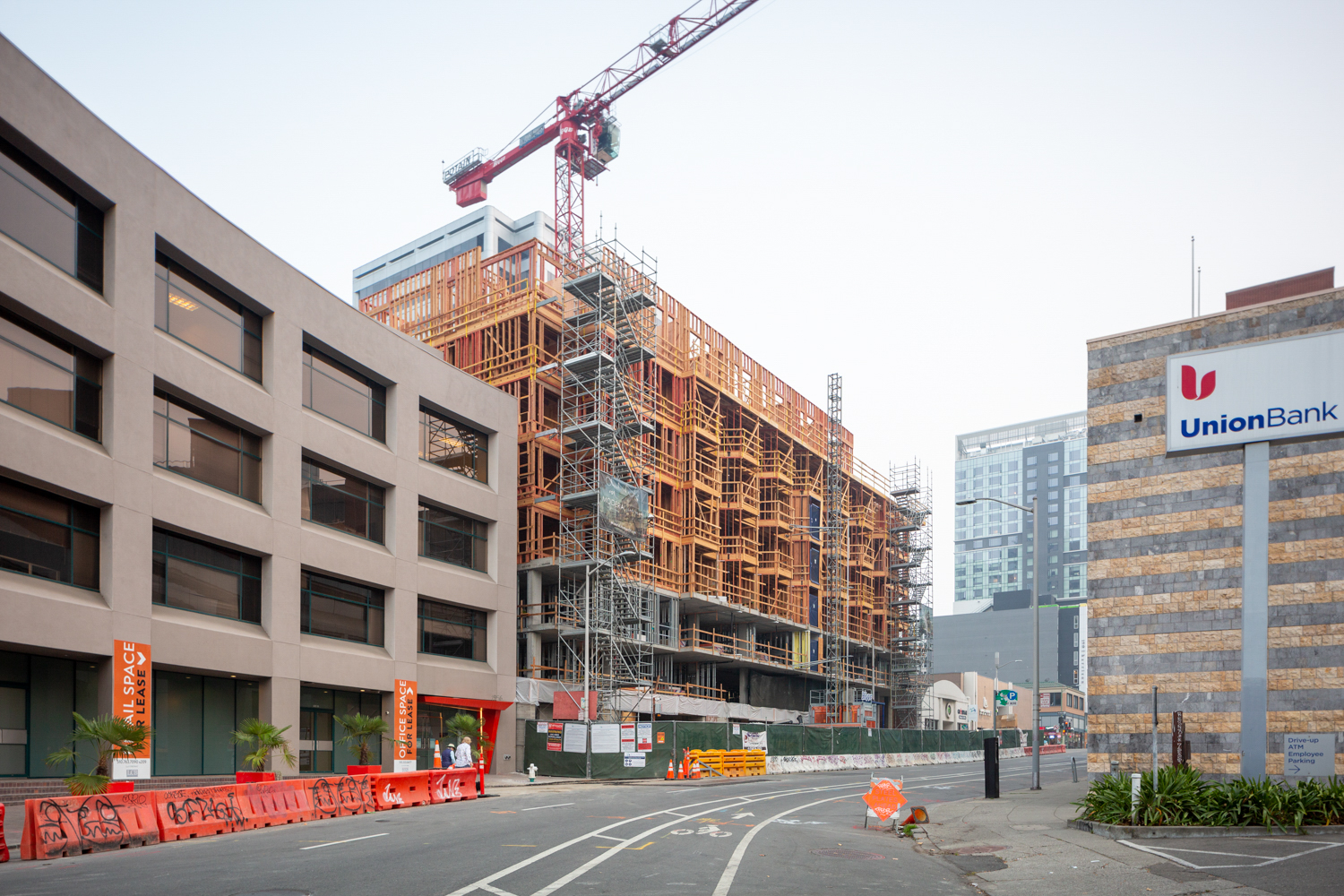 1940 Webster Street topped out, image by Andrew Campbell Nelson