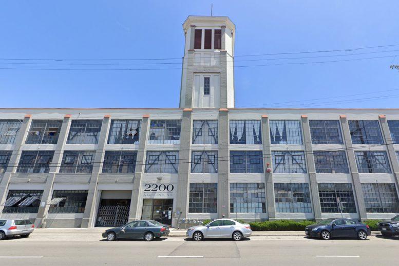 2200 Adeline Street tower, image via Google Street View