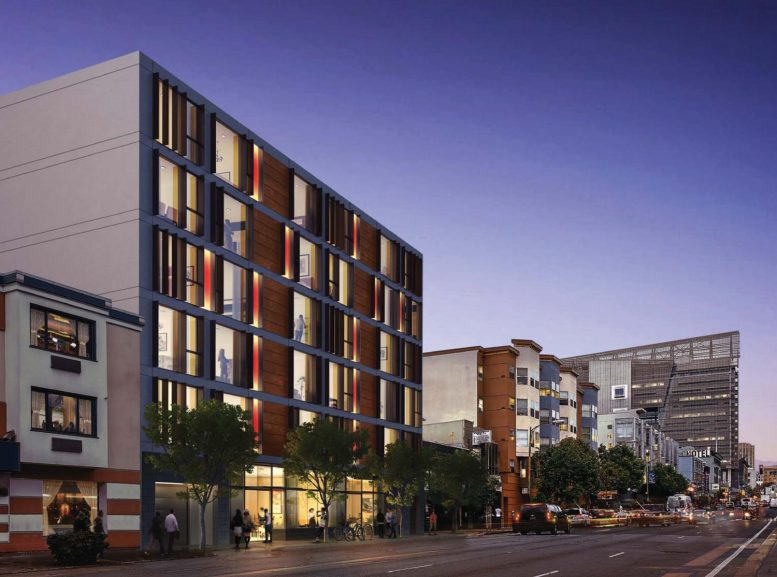 230 7th Street, rendering by Gary Gee Architects