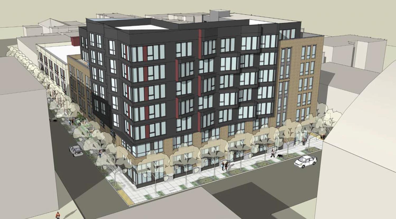 344 14th Street elevation, drawing via SF Planning