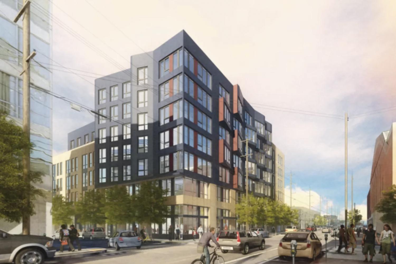 344 14th Street, rendering via SF Planning