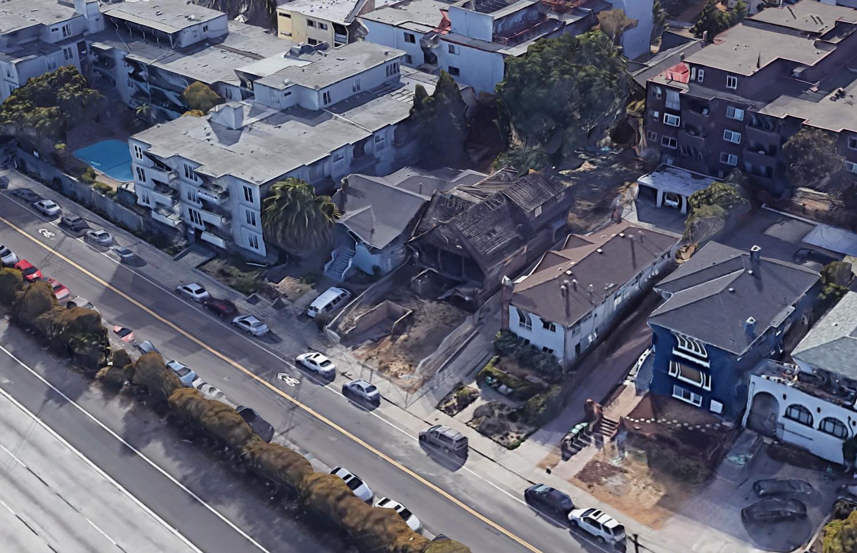 369 MacArthur Boulevard, via Google Satellite