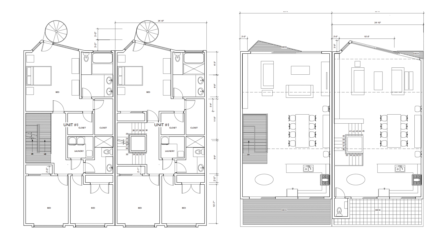 4034 20th Street proposed floor plan, via Harris Architects