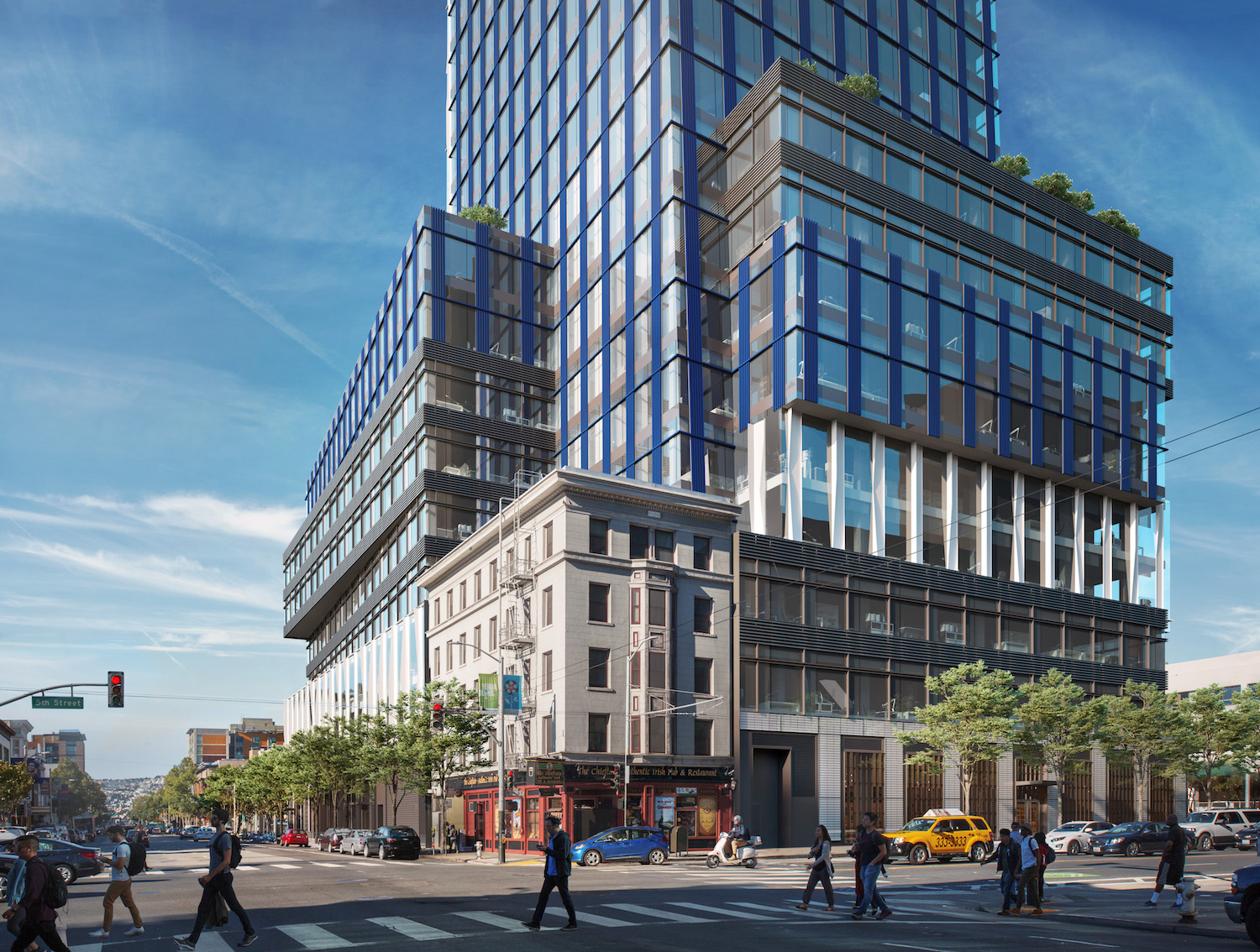 The Dempster and 415 Natoma at 5th and Howard Street, image courtesy Brookfield Properties