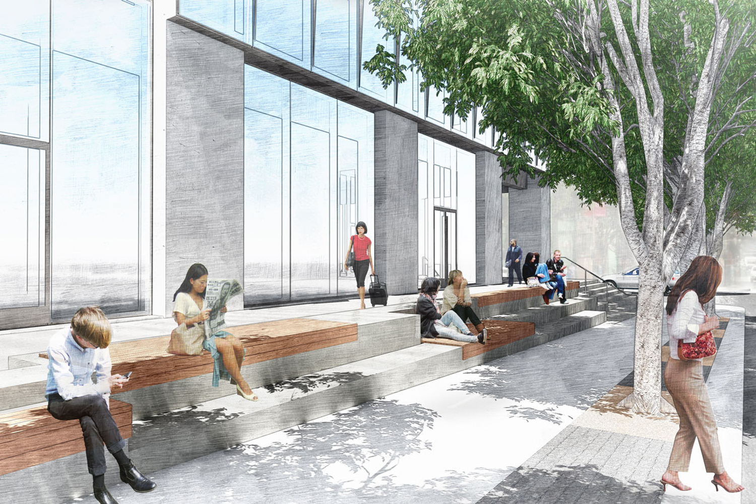 633 Folsom Street, design by MANTLE Landscape Architecture, images by Meyer + Silberberg Landscape Architecture, Inc