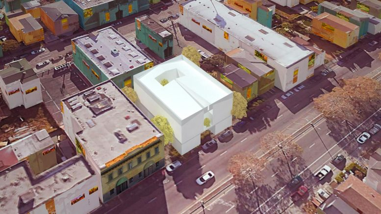 681 27th Street, rendering by Robledo Pennell