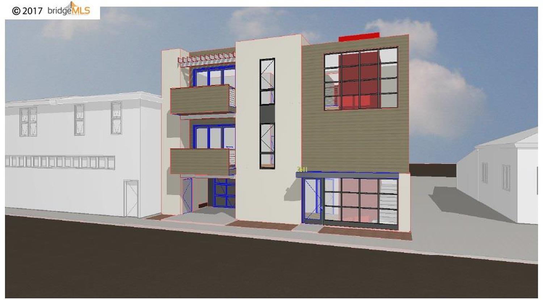An out-dated rendering of 681 27th Street, via Bridge MLS