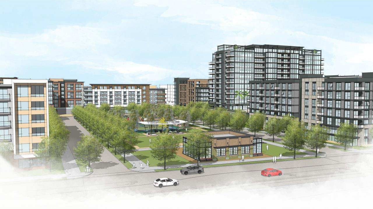 Gateway Crossing rendering, courtesy Santa Clara Govt website