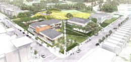 Herz Recreation Center, design by Leddy Maytum Stacy Architects