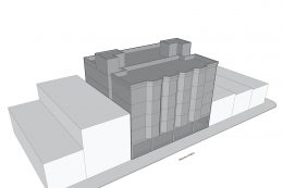 Outdated 2019 design for 2316-2326 Mission Street, by Workshop 1