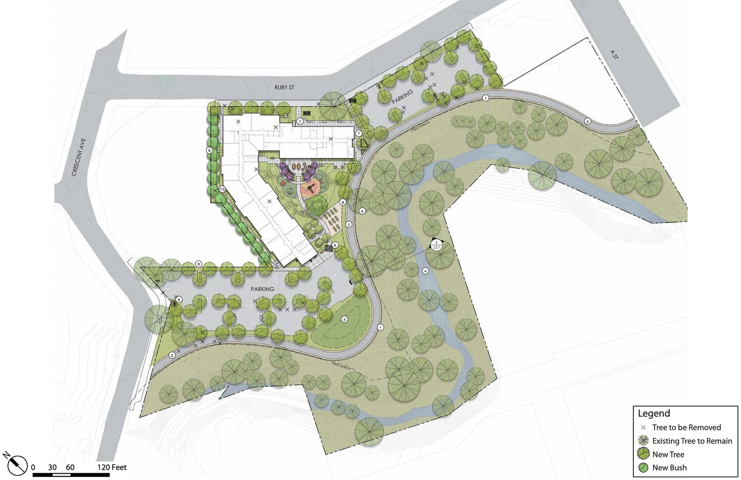 Preliminary Landscape Designing, drawing by Jett Landscape Architecture and Design