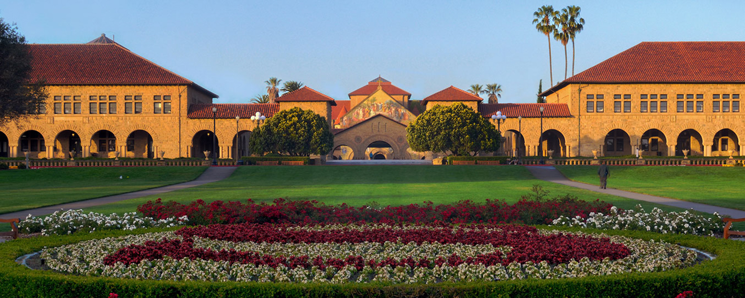 Stanford campus, image courtesy Stanford