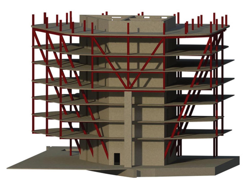 Structural System, design by Magnusson Klemencic Associates