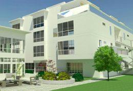 2750 Geary Boulevard new building, design by Kodama Diseno