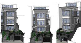 3145 Jackson Street, design by Geiszler Architects
