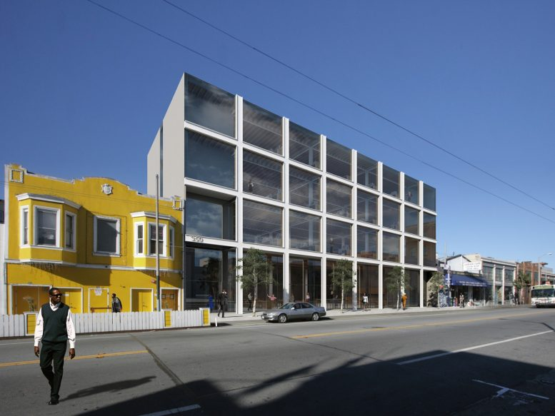 340 11th Street, rendering courtesy Stanley Saitowitz Natoma Architects