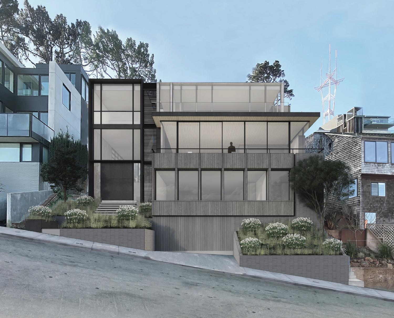 35 Belgrave Avenue, design by John Maniscalco Architect