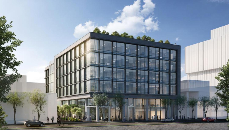 505 Brannan Street, rendering courtesy Heller Manus Architects