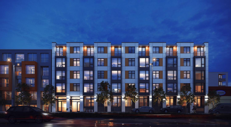 65 Ocean Avenue design, rendering by rg architecture