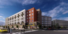 6733 Foothill Boulevard, rendering by AO Architects