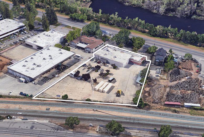 8395 Jackson Road, image via Google Satellite