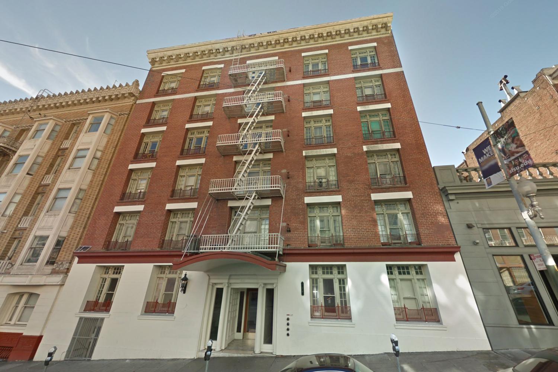 861 Sutter Street, via Google Street View