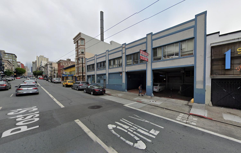 955 Post Street, image via Google Street View