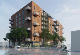 995 East Santa Clara Street, development by First Community Housing designed by David Bark Architects via the East Bay Times