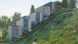 Bernal Heights South Slope Development, rendering via Sothebys