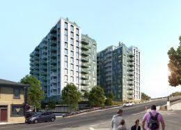 280 McEvoy Street, rendering courtesy SERA Architects