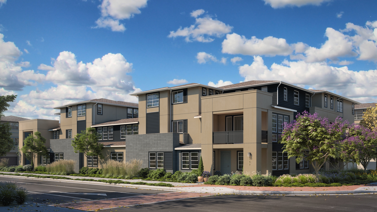 Downing house rendering, image courtesy Lennar