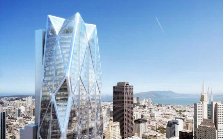 Oceanwide Center, design by Foster + Partners with Heller Manus Architects