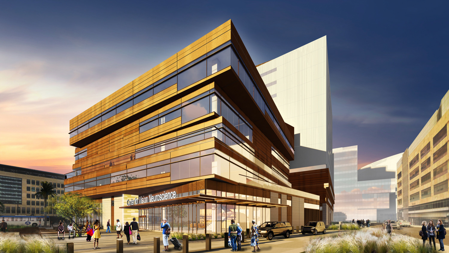 Wayne and Gladys Valley Center for Vision at 490 Illinois Street, image courtesy Webcor