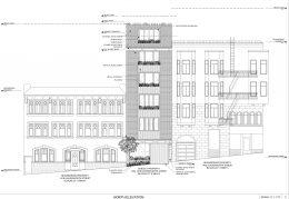 1404-05 Leavenworth Street North Elevation