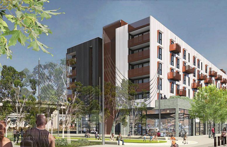 2011-2195 West Street Proposed Rendering