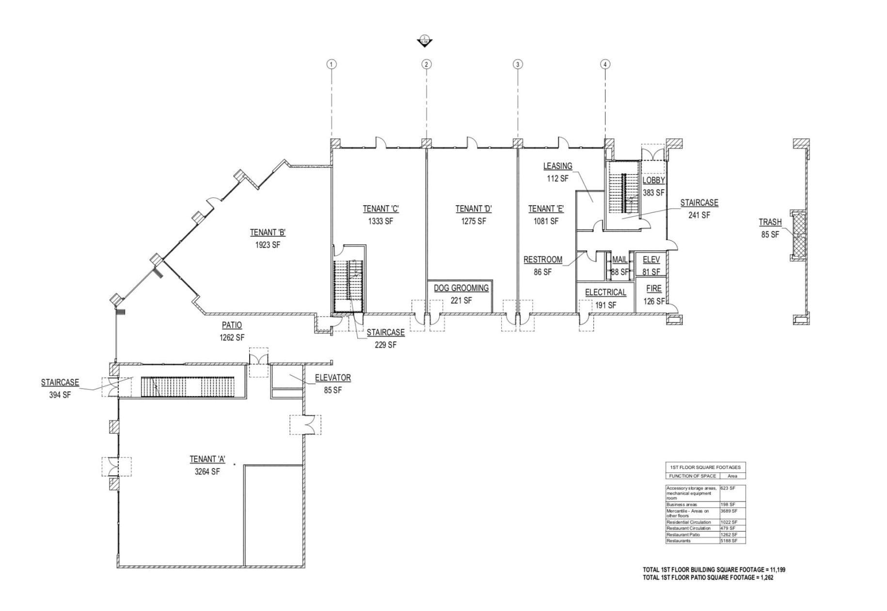2500 16th SAC Ground Floor Plan