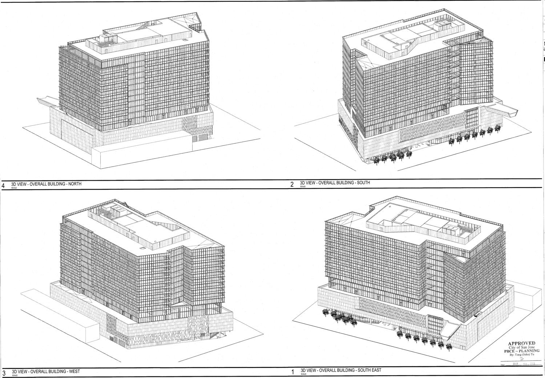 3D Overview of 333 West San Fernando Street, drawing courtesy Gensler