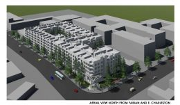 3997 Fabian Way 3D view via Architects Orange