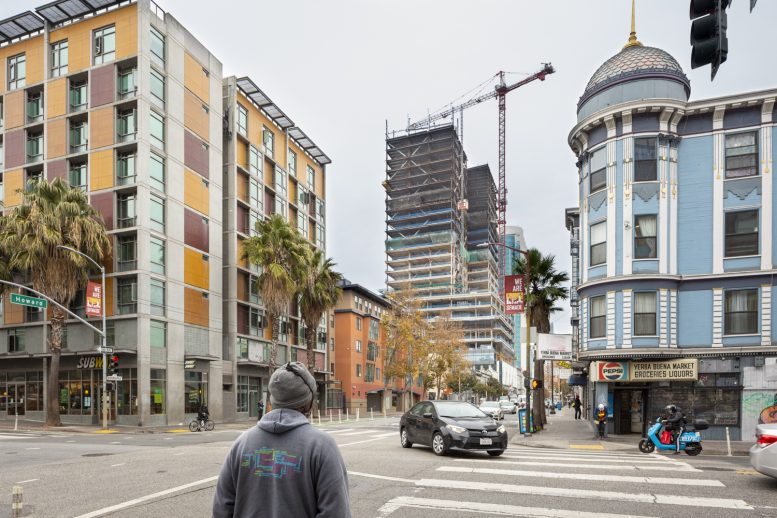 415 Natoma Street as seen from a block away, image by author