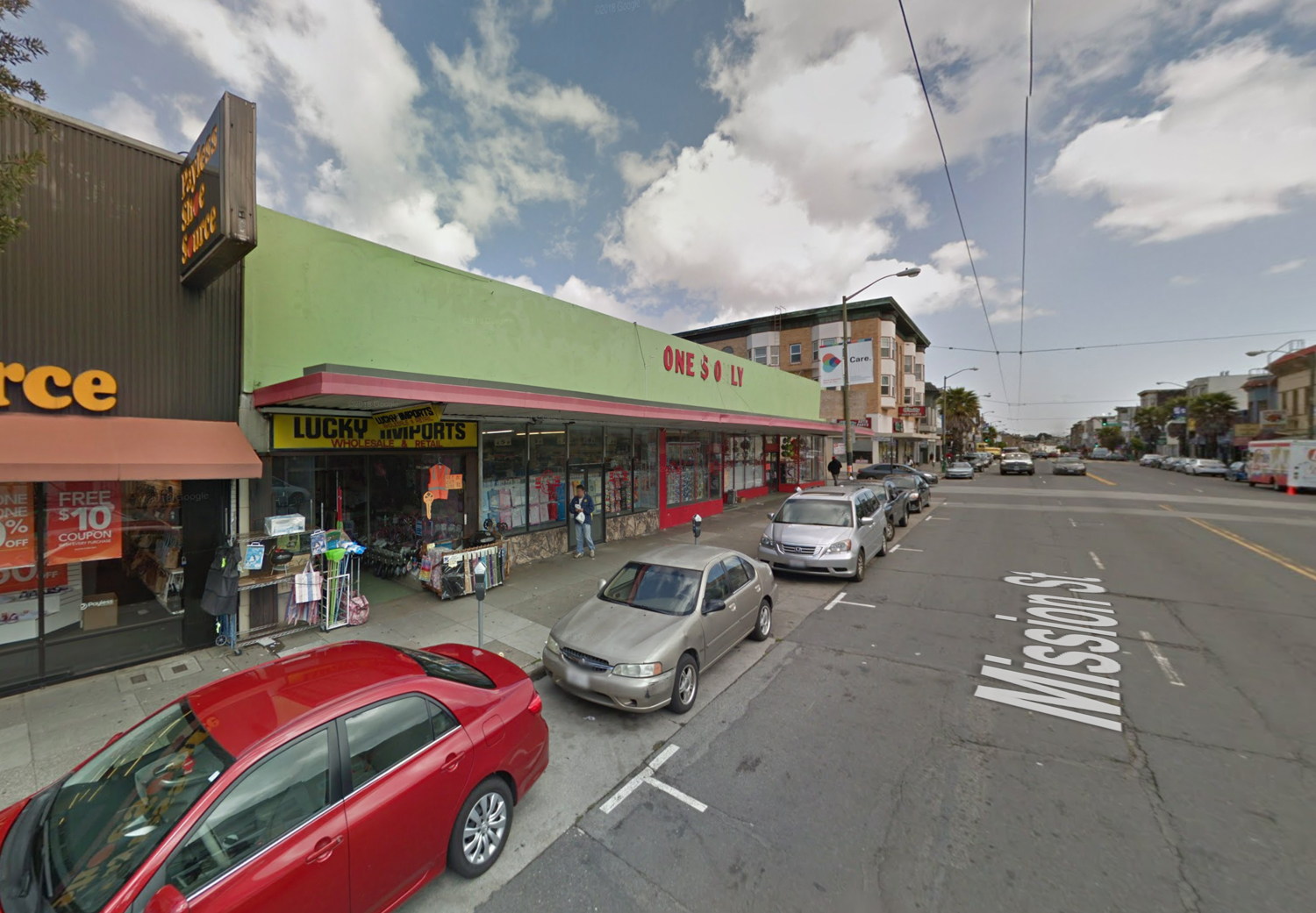 4550 Mission Street, image from Google Street View