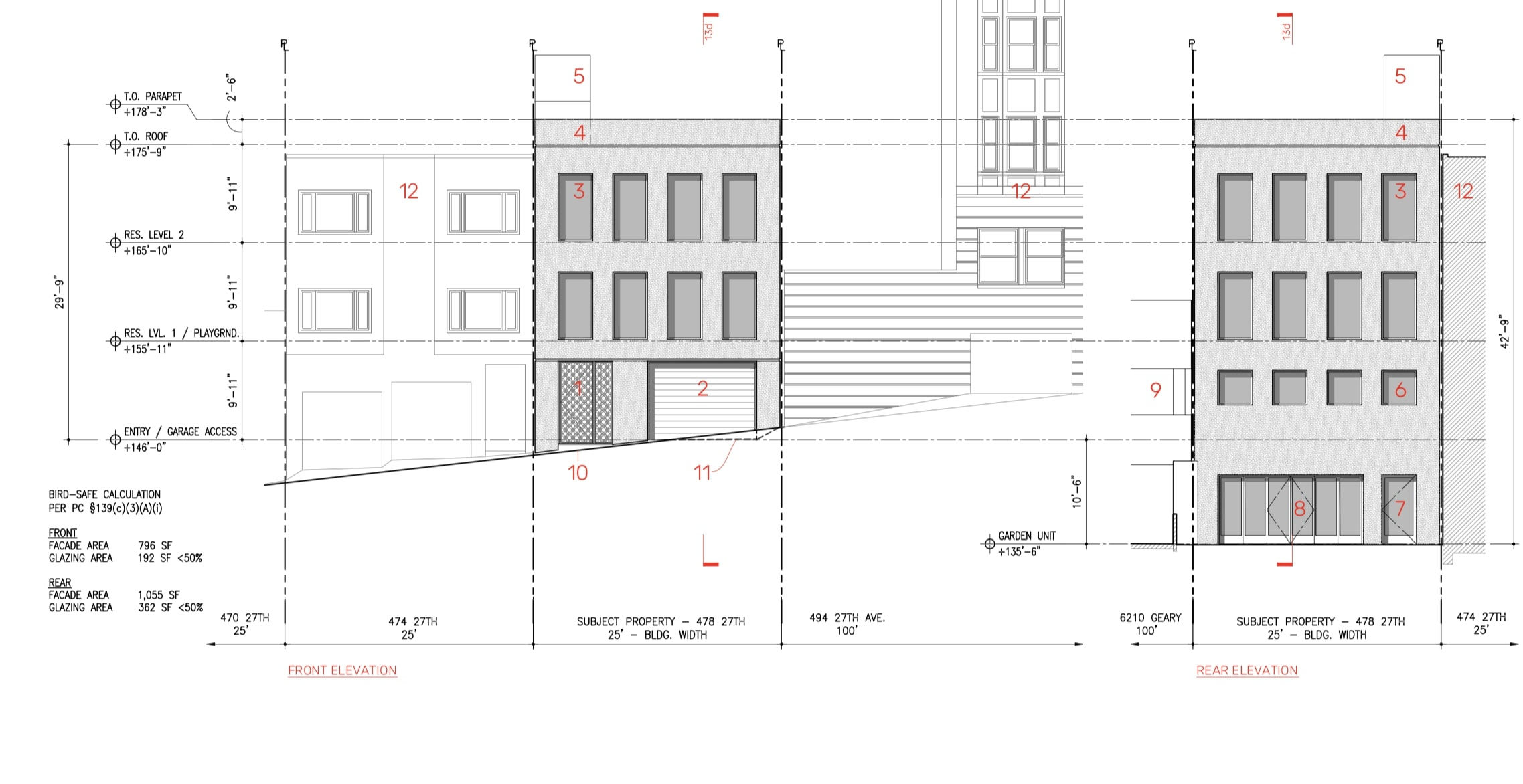 478 27th Avenue Elevations
