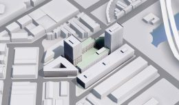 900 7th Street, by Recology and SOM