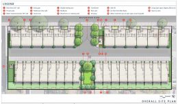 9869 Oak Site Plan