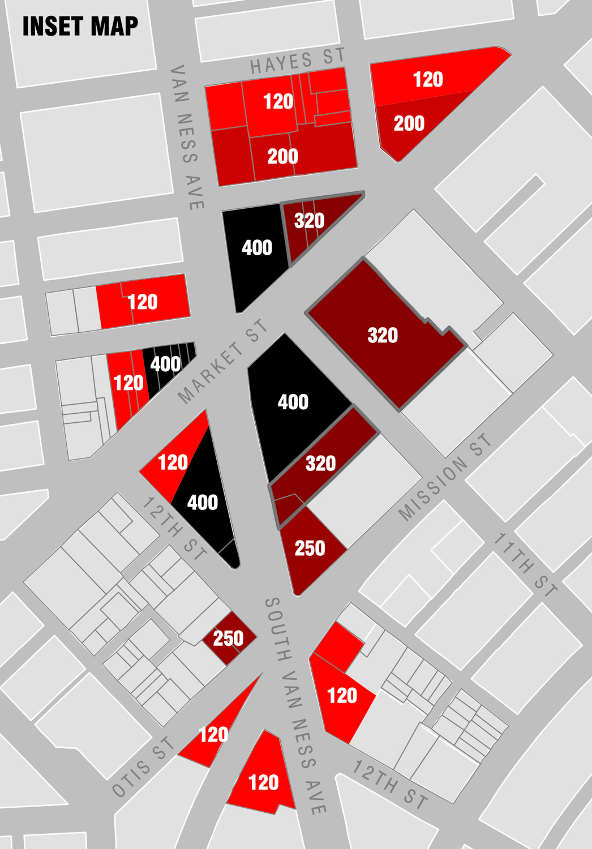 Market & Octavia Area Plan zoning, image courtesy San Francisco City Hall website